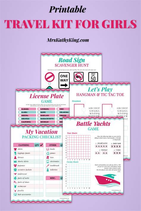 Printable Travel Activity Sheets | free printable travel games and activity sheets pack