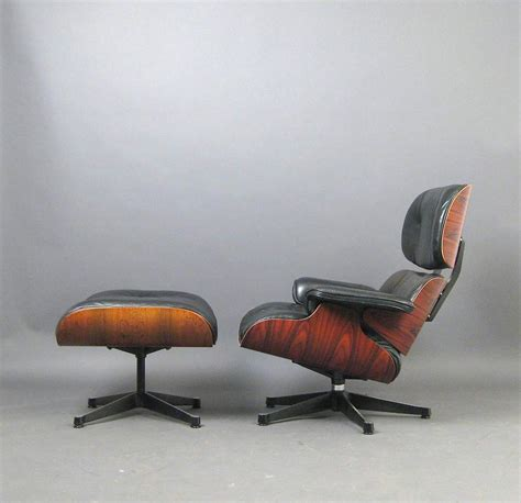 vintage eames lounge chair and ottoman broken arm on eames lounge chair