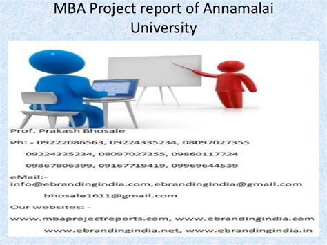 Mba Project Report On Analysis Of Advertisement by Mba Project Report Of Annamalai