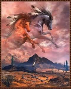 free style painting spirit american