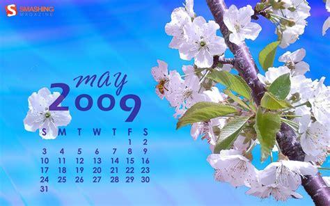 Fondos De Calendarios Fondos De Escritorio Con Y Calendario Para Mayo 2009