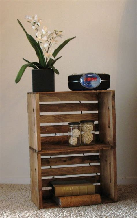 ideas for nightstands 15 awesome diy nightstand ideas creative crates and tables
