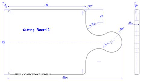 Kitchen Cutting Board Plan Printable Cutting Board Templates