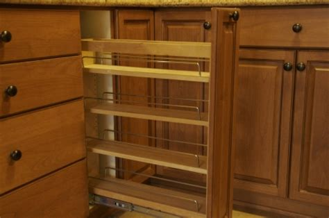 pull out spice rack base cabinet spice rack w l rubottom cabinets co