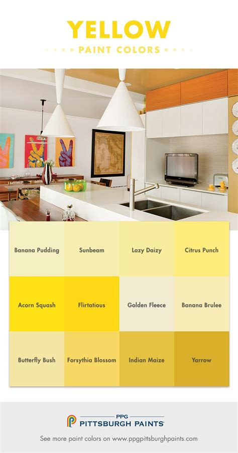17 best yellow paint colors images on color
