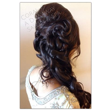 puff hairstyle in open hair 27 best hairstyles for sarees in 2017 new ideas you will