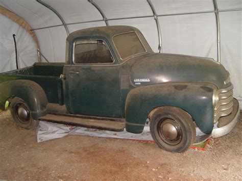 Finds For by 1950 Chevy 3100 Original 5 Window Up Truck For Sale