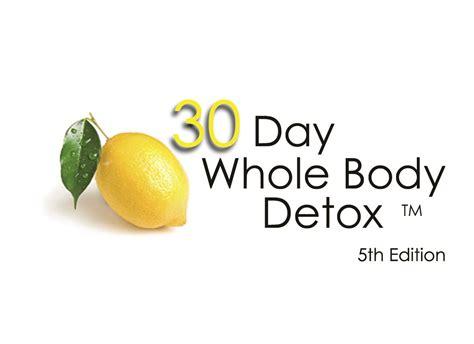 Whole Detox by 30 Day Whole Detox Julie Boyer