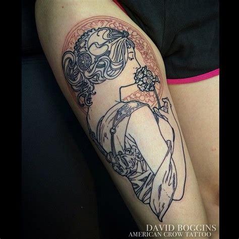 alphonse mucha tattoo best 25 nouveau ideas on nouveau