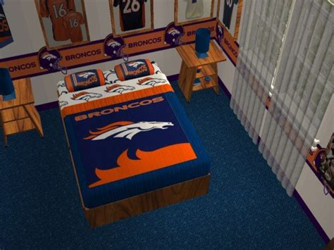 denver broncos bedroom mod the sims denver broncos bedroom requested by jeffsta17