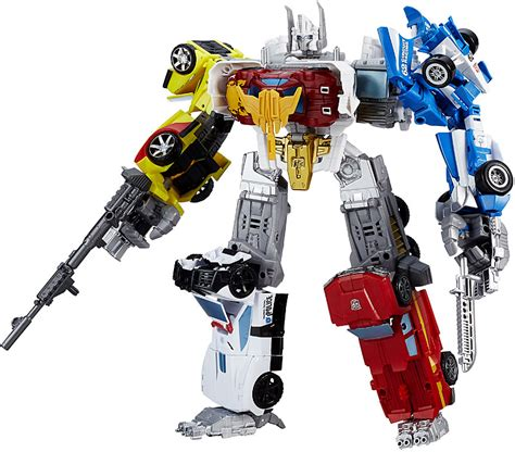 80s Accessories For Prime by Transformers 2015 Combiner Wars Optimus Maximus 4 Deluxe