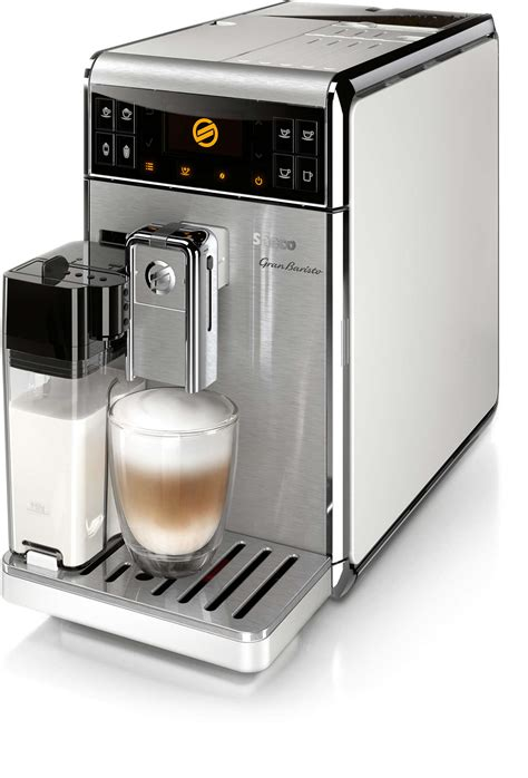 GranBaristo Super automatic espresso machine HD8966/13   Saeco