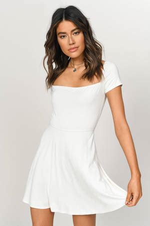 graduation dresses  cute white graduation dress tobi