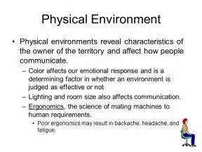 what factor affects the color of a nonverbal communication in the organization ppt