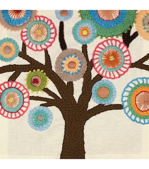 Online Home Decorating Catalogs by Dimensions Handmade Collection Crewel Embroidery Kit Tree