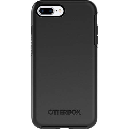otterbox symmetry series for apple iphone 7 plus black walmart