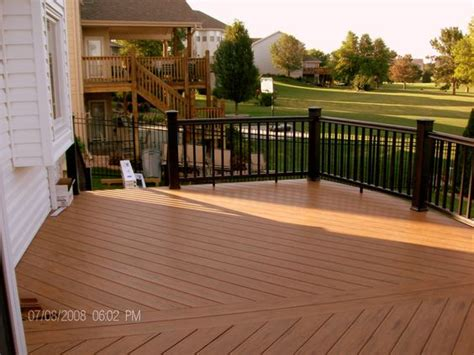 deck stain dark  black rails mike jansen custom