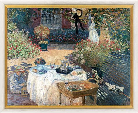 the garden of monet in argenteuil painting for sale