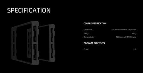 Cryorig Customod Cover For R1 cryorig customod coloured heatsink cover for r1 metallic orange cr covero pc gear
