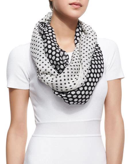 michael kors infinity scarf michael michael kors polka dot infinity scarf