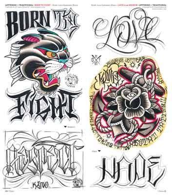 tattoo lettering traditional idea tattoo 204 nov dic 2015