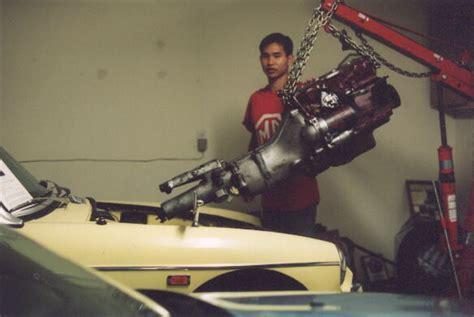 engine mount and installation jetprop llc mgb engine installation