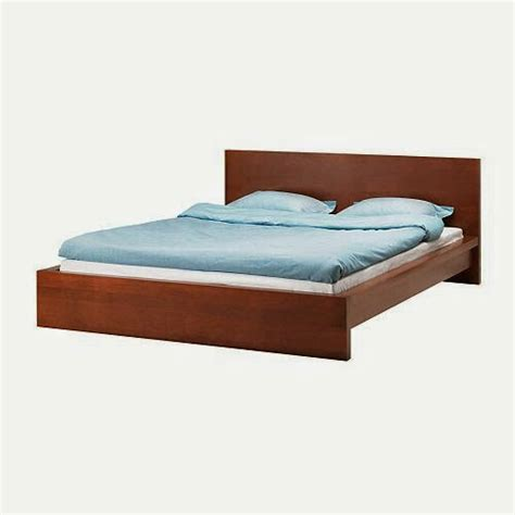 Bed Frames San Francisco Brown Low Malm Bed Frame Slats Optional Mattress Furniture In San Francisco Ca