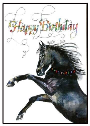 printable horse happy birthday cards unavailable listing on etsy