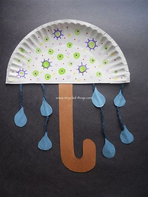 Ideas For Paper Craft - 25 simple paper plate crafts for every event recycled things