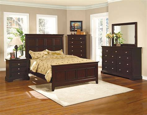espresso bedroom set london panel espresso finish bedroom furniture set free