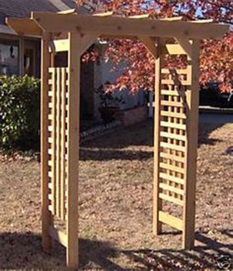 Japanese Wedding Arch by New Japanese Style Cedar Wood Garden Arbor Pergola Arch