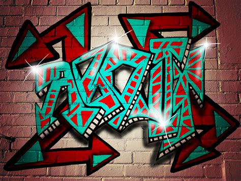 Typography Graffiti Tutorial | a brief introduction into graffiti typography