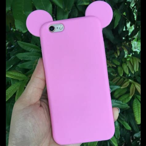 Silicon Ear Mickey Stand Phone For Oppo Neo 5 popular ear cases buy cheap ear cases lots from china ear cases suppliers on aliexpress