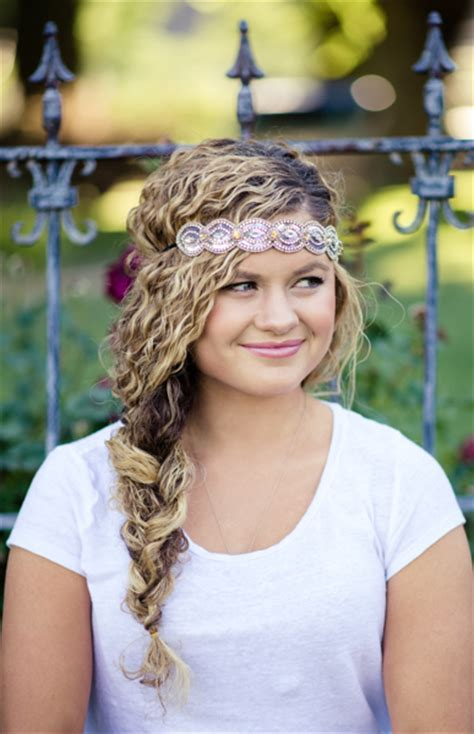 headband hairstyles for curly hair 11 quick easy headband hairstyles for naturally curly hair