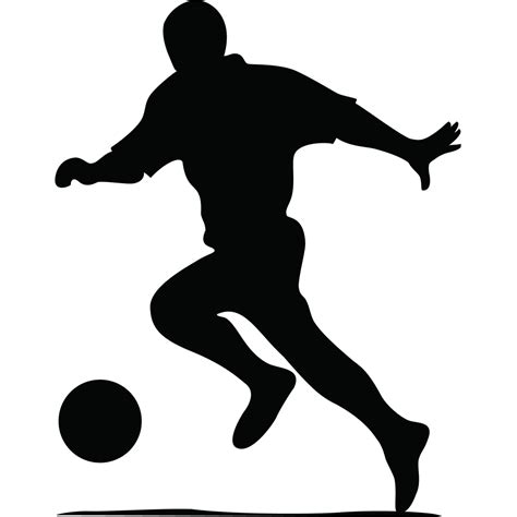 Sticker Image Bola stickers muraux sport et football sticker silhouette