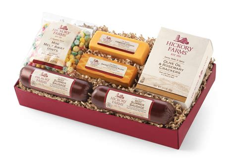 hickory farms delicious holiday treats giving back
