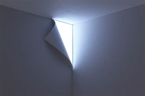a light that turns your wall into an entrance to