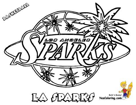 basketball team free coloring pages
