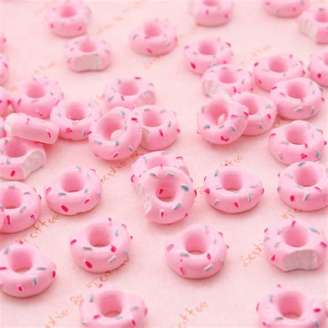 Kawai Pink kawaii pink donut cabochon flickr photo