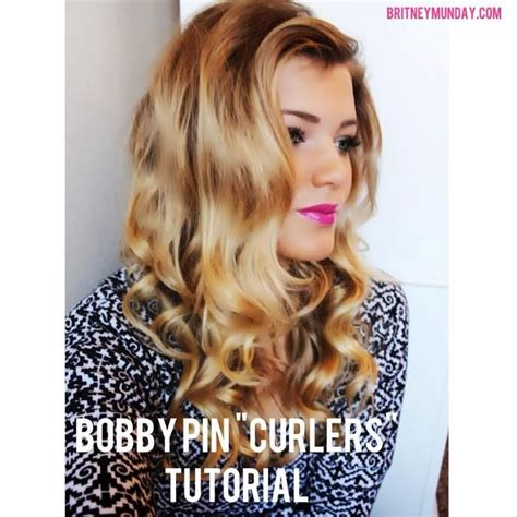 curly hairstyles using bobby pins tutorial on bobby pin curls keeps your hair curled for