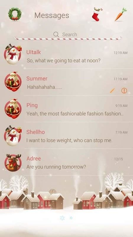 go sms pro themes free download for android apk go sms pro christmas theme free android theme download