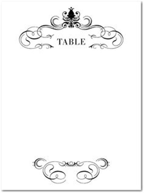 make your own table number cards template wedding table number card template 4x6 flat vintage