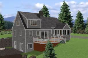 Lake House Plans by Cape Lake House Plan 3 Bedroom Traditional House Plan