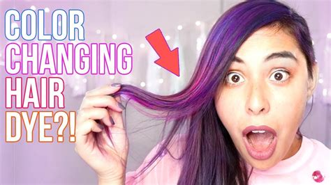 color hair dye trying color changing hair dye
