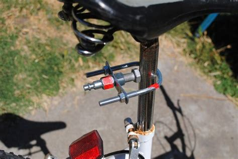 bike trailer hitch diy how to build a bike trailer