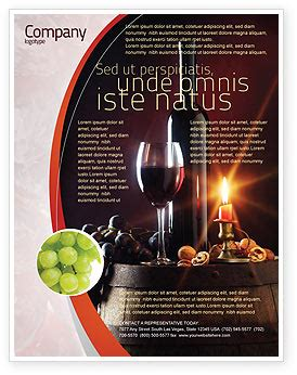 Wine Bottle Flyer Template Background In Microsoft Word Publisher And Illustrator Formats Free Wine Flyer Template