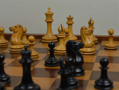 staunton chess pieces ref1227 early jaques staunton chess set antique chess shop