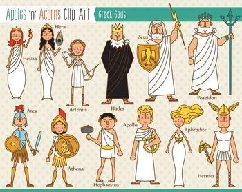 ancient greek gods mythology free video clips greek gods clip art color and outlines clip art