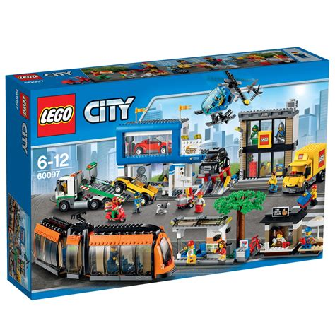 City Set lego city town square 60097 163 150 00 hamleys for toys