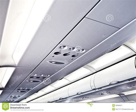 flying ceiling plane commercial airplane ceiling royalty free stock photography